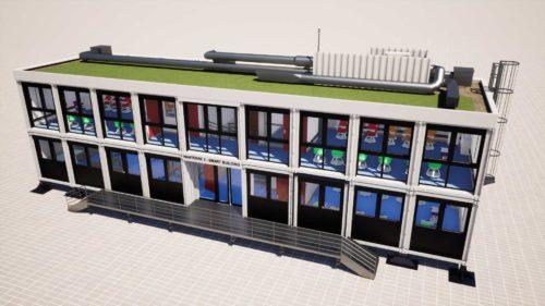 smart building de nanterre